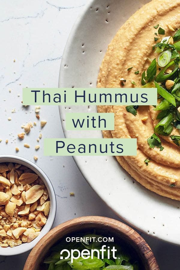 Thai Humus with Peanuts
