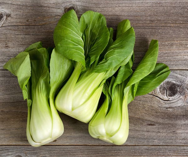 18 Delicious Fall Fruits and Vegetables-Bok Choy