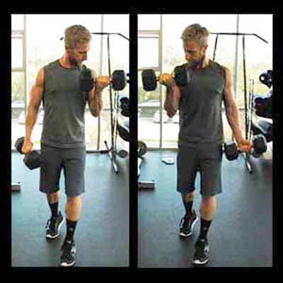 Biceps Workouts Exercises Alternating Dumbbell Curl