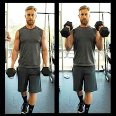 Biceps Workouts Exercises Hammer Curl