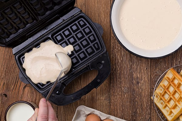 6 Healthy Foods to Make in a Waffle Maker That Aren't Waffles