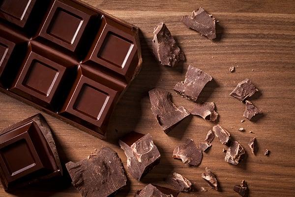 chocolate antioxidant foods