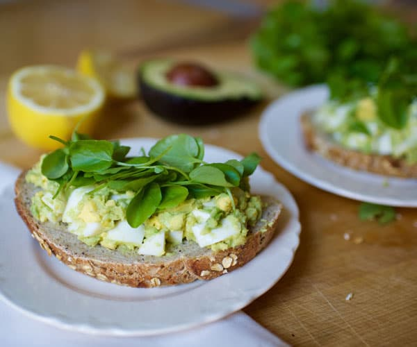 Avocado Egg Salad Toast Recipe