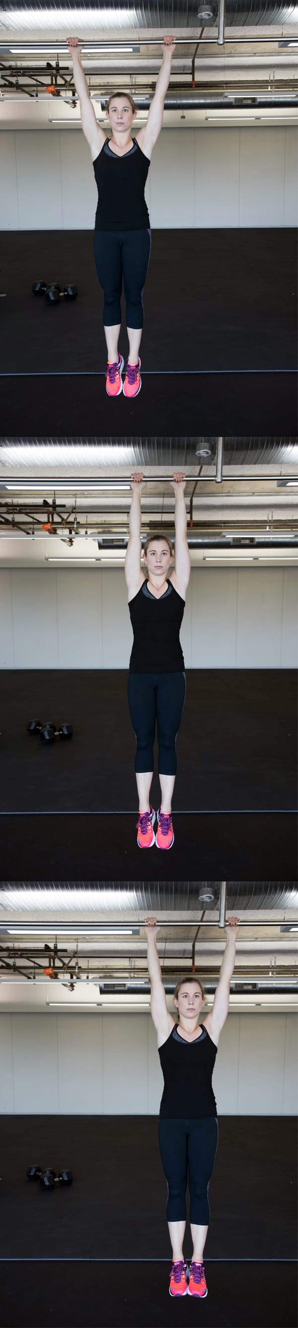 4 Moves That Can Give You Arms Like a Gymnast - Bar Shimmy