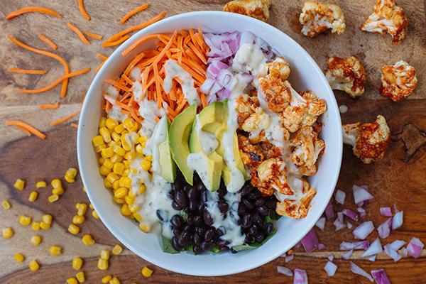 Easy Barbecued Cauliflower Salad