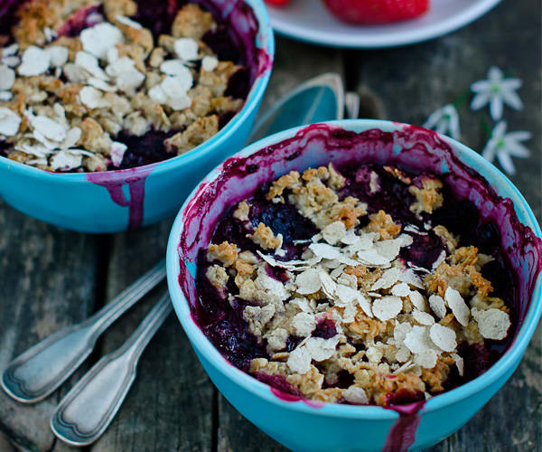 Blueberry Buckle Granola