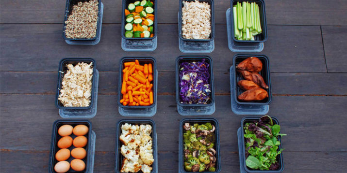 Buffet-Style Meal Prep With Shredded Chicken, Roasted Veggies, and More