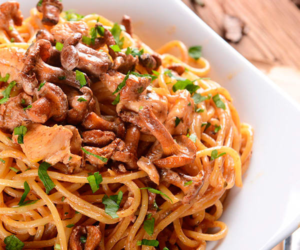 Chicken and Mushroom Pasta Recipe