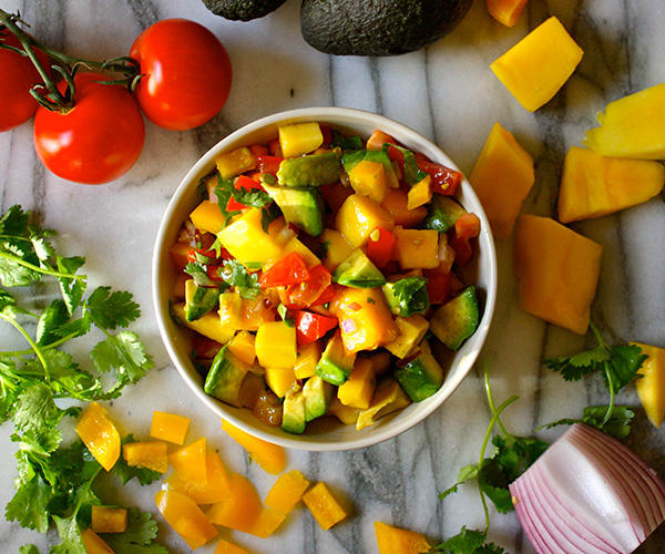 Chunky Rainbow Salsa Recipe