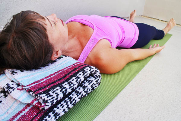Corpse Pose Yoga Recovery