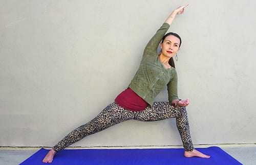 Standing Yoga Poses Extended Side Angle