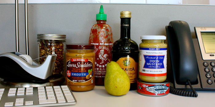 Stock Your Office Desk with These 12 Foods That Don't Require a Fridge
