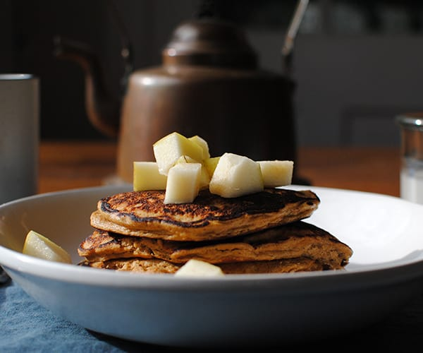 Gingerbread Protein Pancakes