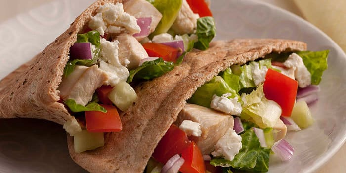 Greek Chicken Pita Recipe