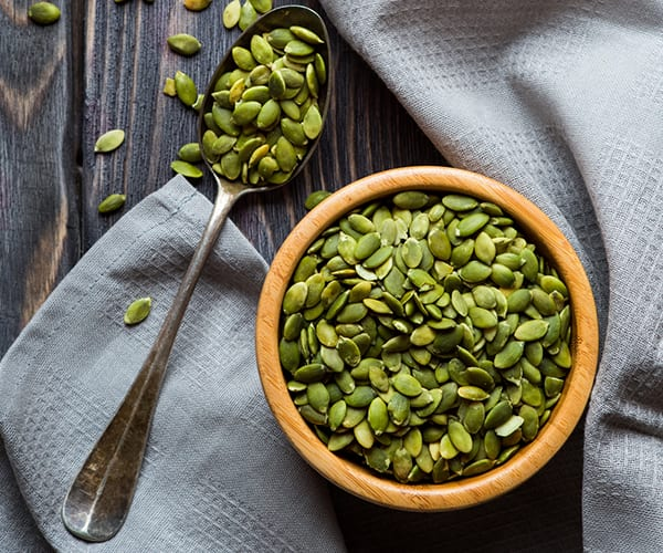 Healthy Snacks or Work Under 200 Calories - Pumpkin Seeds