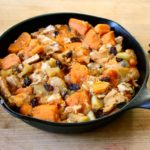 Chicken with Sweet Potatoes and Apples