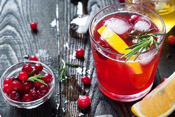 Cranberry Fizz Cocktail