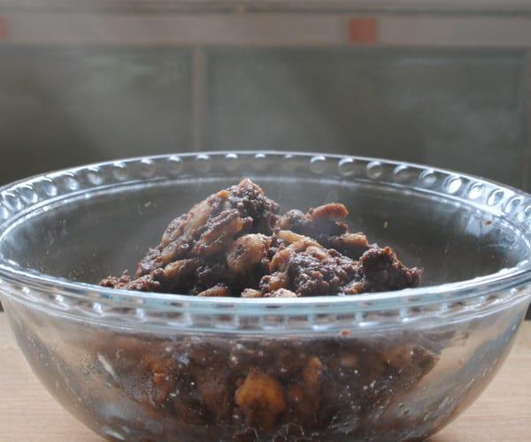 Hot Chocolate Souffle