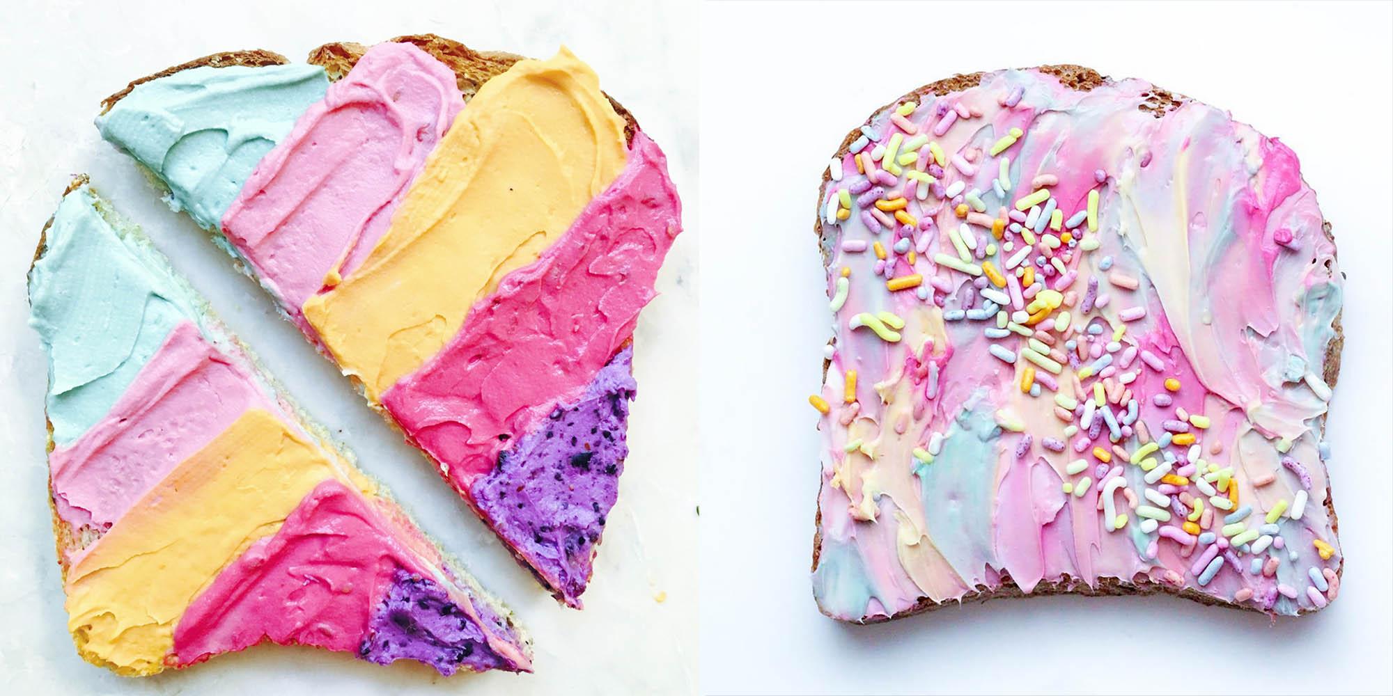 Is Unicorn Toast Healthy?