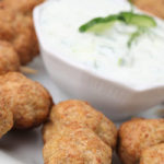 Lamb Meatballs with Mint Yogurt Sauce