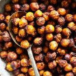 Maple Chai Roasted Chickpeas