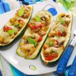 Mexican Zucchini Taco Boats