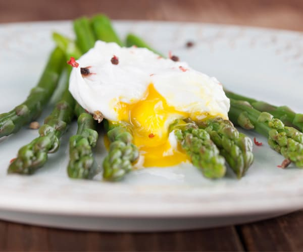 Poached Eggs with Asparagus Recipe