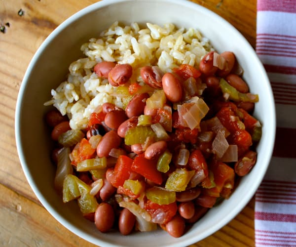 Savory Beans and Rice