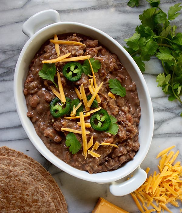 Easy Slow Cooker Recipes: Slow Cooker Refried Beans