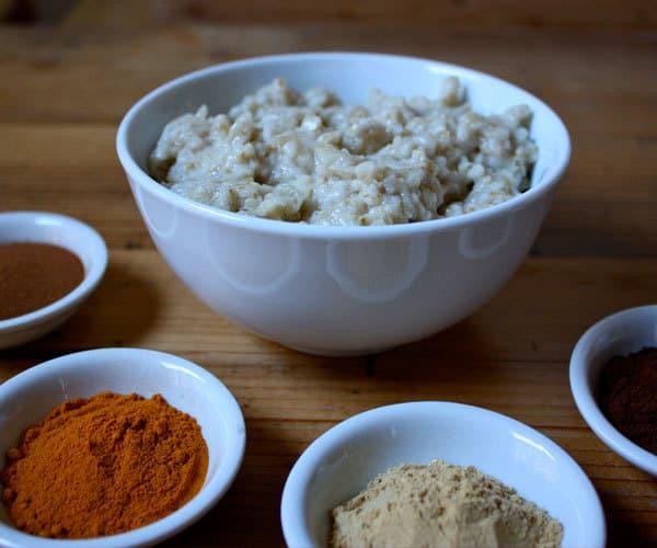 Holiday Spice Oatmeal