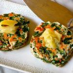 Spinach Salmon Patties