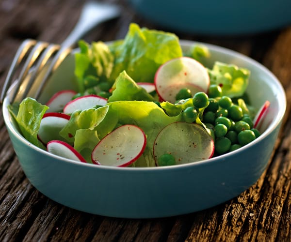 Spring Salad with Peas and Radishes Recipe