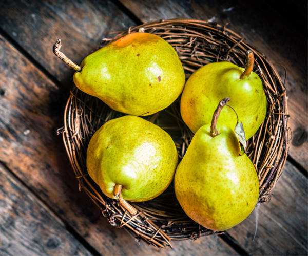 High Fiber Foods - Pears