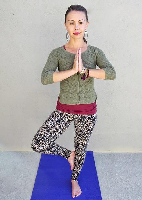 Standing Yoga Poses Tree