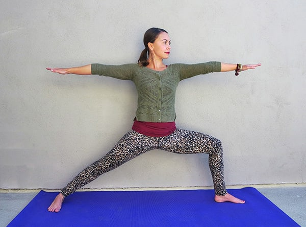 Standing Yoga Poses Warrior II