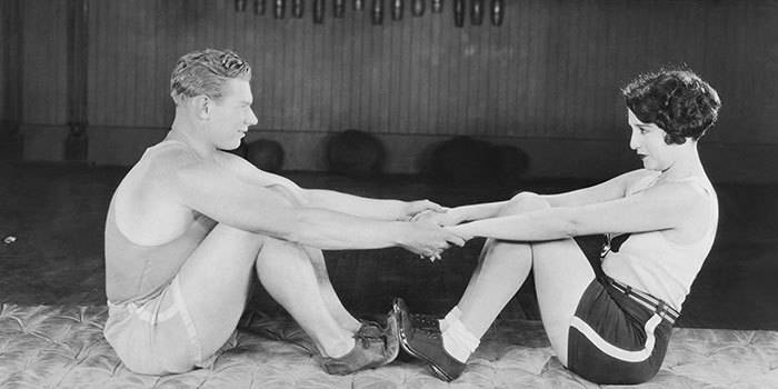 What Exercise Looked Like 100 Years Ago