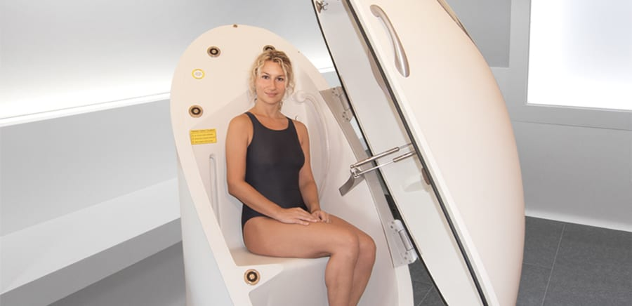 Bod Pod | COSMED | Body Composition | Woman