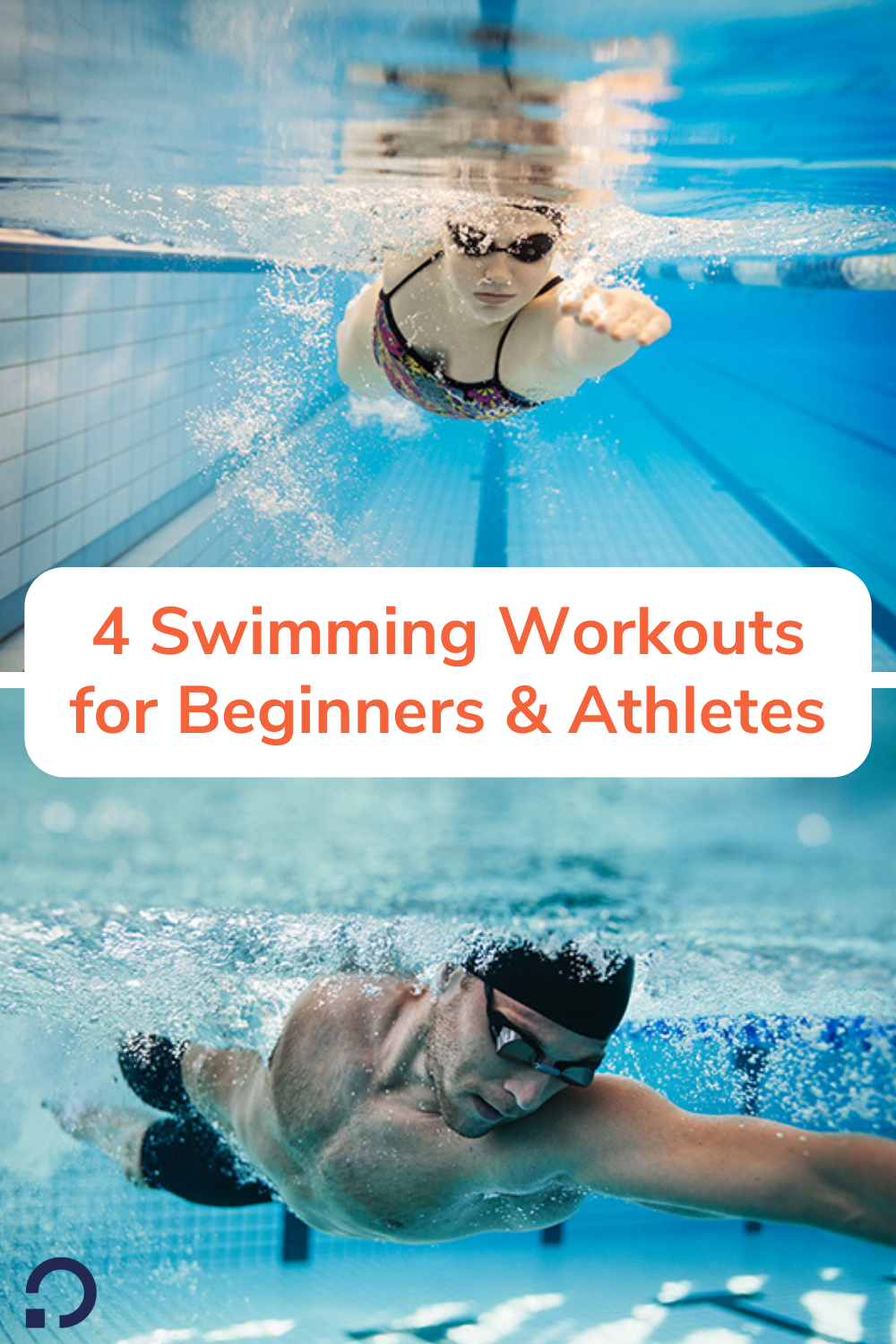 swimming workouts- pin image