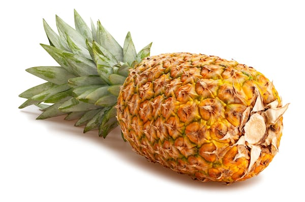 pineapple nutrition - whole pineapple