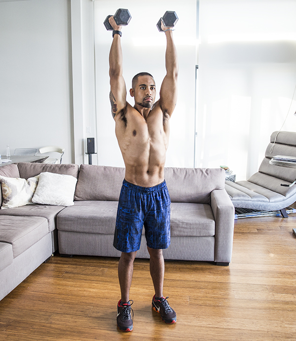3 of the Best Trap Exercises for Muscle and Power double arm windmill