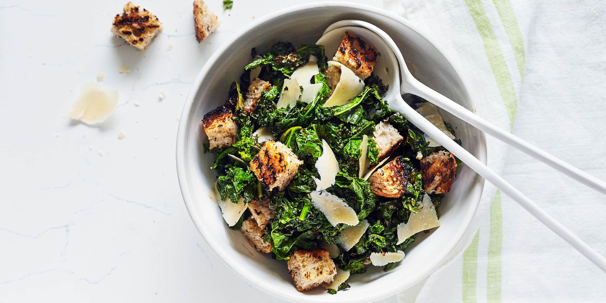 Healthier Caesar Salad