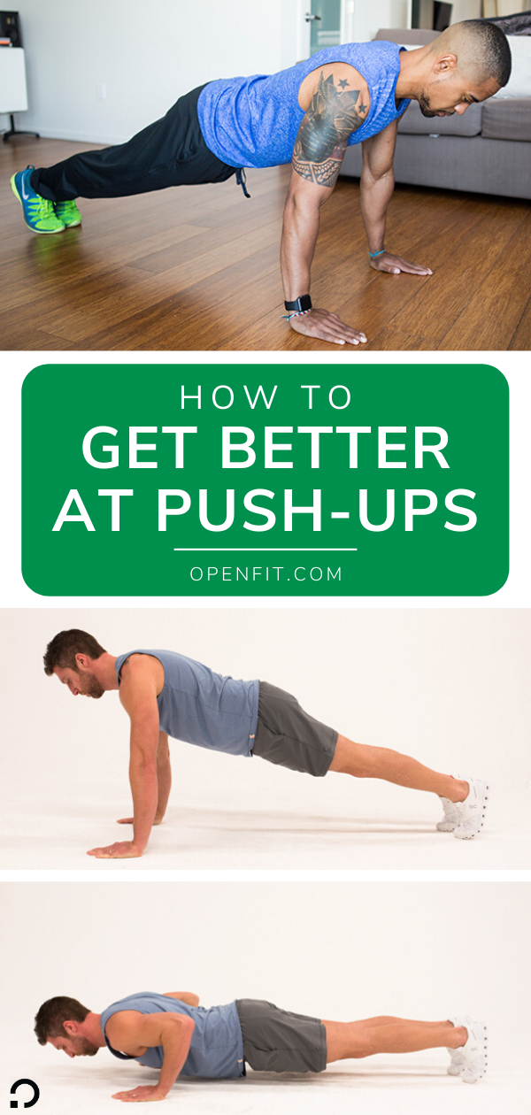 how to get better at push ups pin