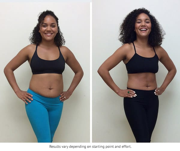 weight transformations - ciara b results