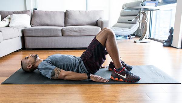 5 of the Best Leg Exercises That Aren't Leg Press glute bridge