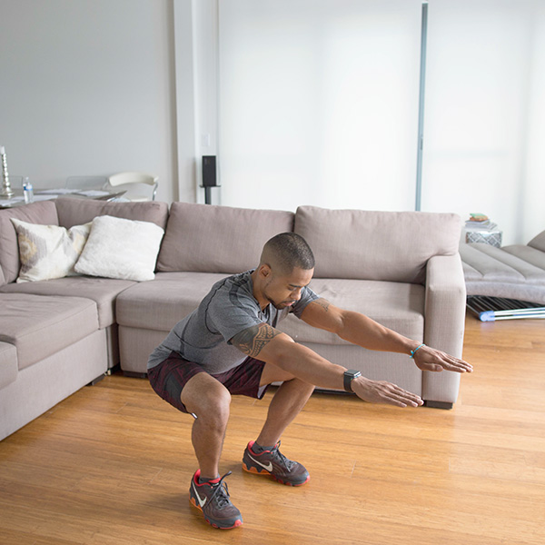 5 of the Best Leg Exercises That Aren't Leg Press bodyweight squat