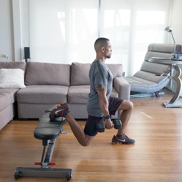 5 of the Best Leg Exercises That Aren't Leg Press bulgarian split squat