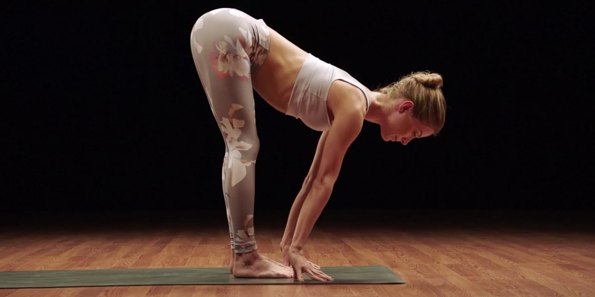 How to Do Standing Half Forward Bend