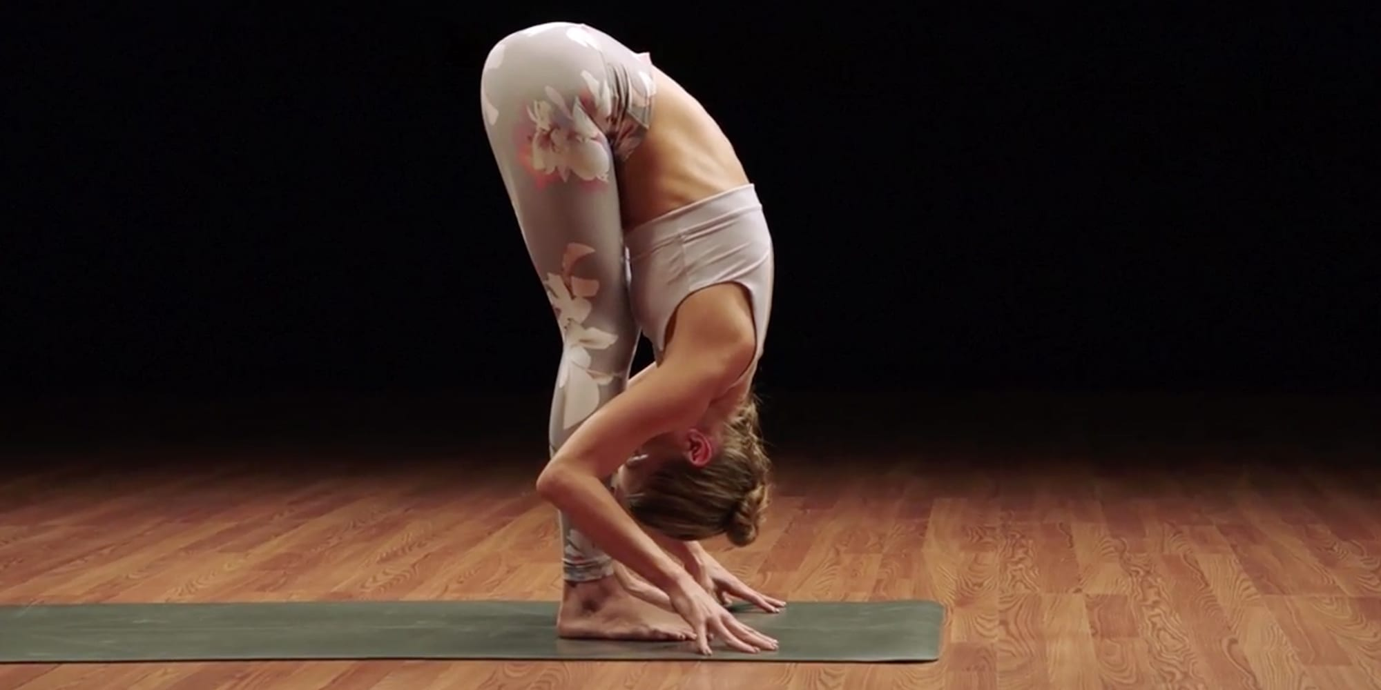 yoga at home - forward bend