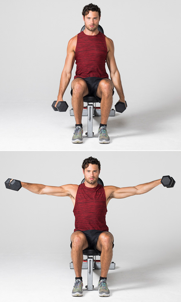 Lateral shoulder raise - Strength Training Workouts