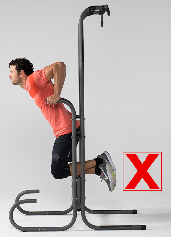 exercises people do wrong dip wrong